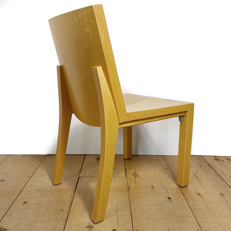 19100713 – Set of 8 Library Chairs Dakota Jackson – 12