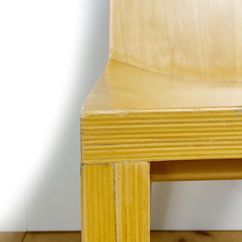 19100713 – Set of 8 Library Chairs Dakota Jackson – 17
