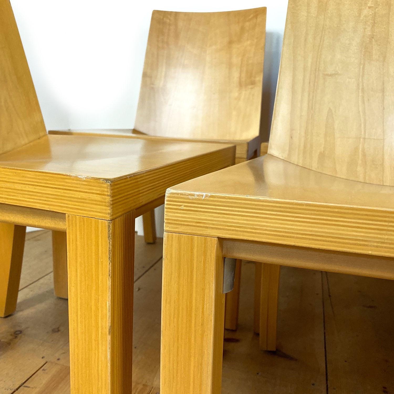 19100713 – Set of 8 Library Chairs Dakota Jackson – 4