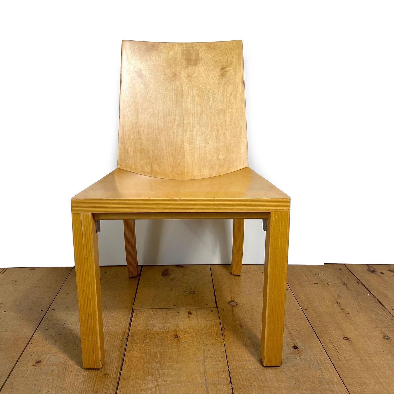 19100713 – Set of 8 Library Chairs Dakota Jackson – 8