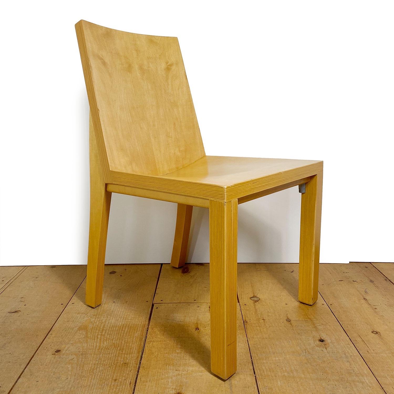 19100713 – Set of 8 Library Chairs Dakota Jackson – 9