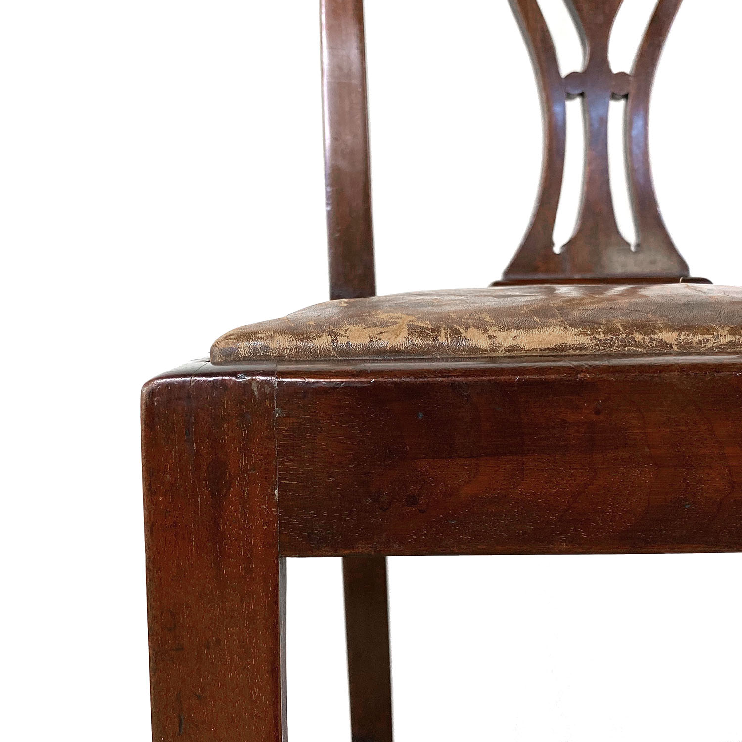 19101414 – Four Chippendale Chairs – 19