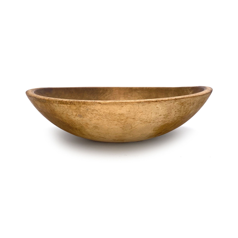 19111302 – 19th Century Wood Bowl – 1