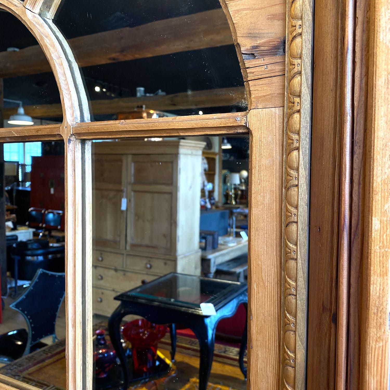 19112401 – Pine Palladian Window Mirror – 2