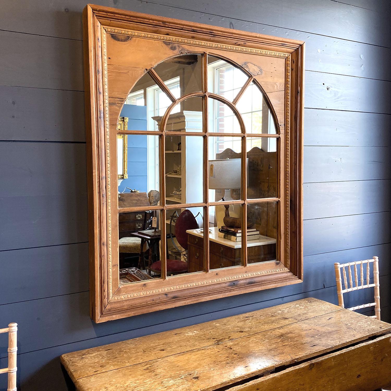 19112401 – Pine Palladian Window Mirror – 3