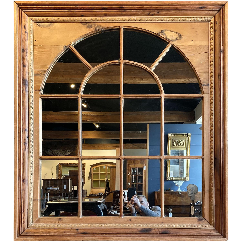 19112401 – Pine Palladian Window Mirror – 5