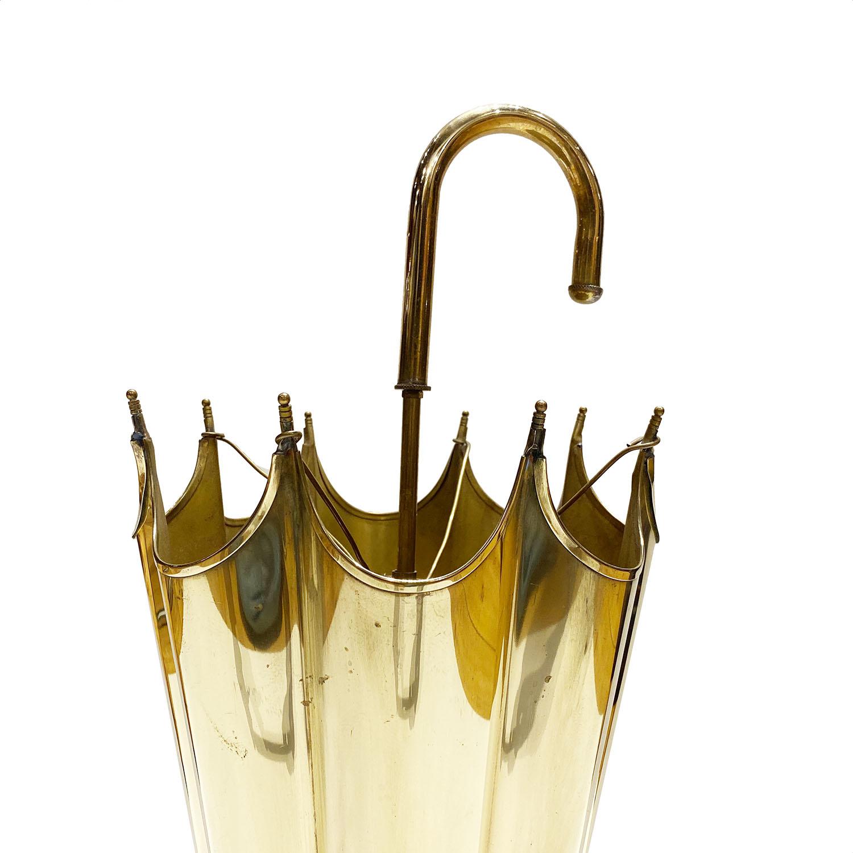 19113005 Brass Umbrella Stand 4